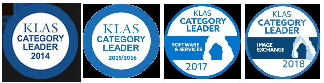 KLAS Awards: Named #1 Medical Image Exchange Vendor for 4 years in a row